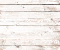 Vecchio fondo di legno bianco d'annata Fotografie Stock