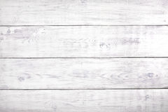 Vecchio fondo di legno bianco, superficie di legno rustica con lo spazio della copia Fotografia Stock