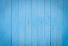 Vecchio fondo di legno blu Immagini Stock Libere da Diritti