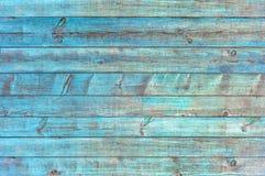 Vecchio fondo di legno blu, fondo di legno del pavimento Fotografia Stock Libera da Diritti