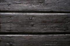 Vecchio fondo di legno carbonizzato Immagine Stock