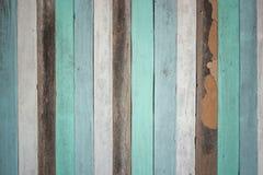 Vecchio fondo di legno colorato Immagini Stock