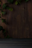 Vecchio fondo di legno d'annata della stanza Immagine Stock Libera da Diritti