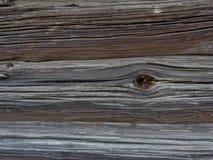 Vecchio fondo di legno dal resti di pittura Fotografia Stock