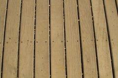 Vecchio fondo di legno del modello della piattaforma Immagine Stock Libera da Diritti