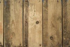 Vecchio fondo di legno del pannello Fotografia Stock Libera da Diritti