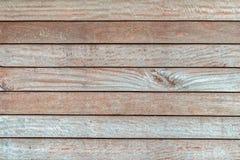 Vecchio fondo di legno del pannello, colore naturale Immagini Stock Libere da Diritti