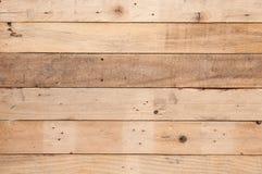 Vecchio fondo di legno della parete della plancia immagine stock libera da diritti