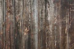 Vecchio fondo di legno della parete della plancia per progettazione Fotografie Stock Libere da Diritti