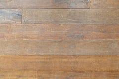 Vecchio fondo di legno della parete della plancia immagine stock