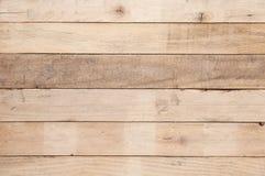 vecchio fondo di legno della parete della plancia, vecchio fondo irregolare di legno del modello di struttura fotografia stock
