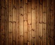 Vecchio fondo di legno della plancia Fotografia Stock Libera da Diritti