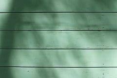 Vecchio fondo di legno di struttura di verde della plancia Immagine Stock Libera da Diritti