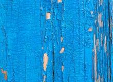 Vecchio fondo di legno dipinto di struttura fotografia stock libera da diritti
