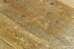 Vecchio fondo di legno, fondo di legno del pavimento Fotografie Stock Libere da Diritti