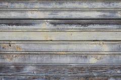 Vecchio fondo di legno grigio Immagine Stock