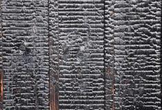 Vecchio fondo di legno scuro di struttura Fotografie Stock