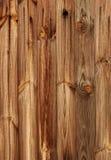 Vecchio legno ruvido sopravvissuto della plancia Immagini Stock
