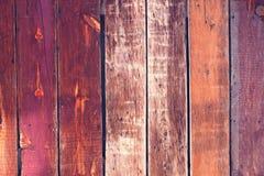 Vecchio fondo di legno variopinto - rosa Immagine Stock