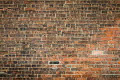 Vecchio fondo di lerciume del modello di struttura del muro di mattoni Fotografia Stock Libera da Diritti