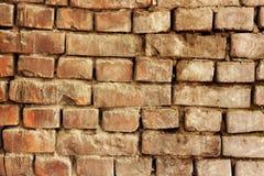 Vecchio fondo di lerciume del muro di mattoni immagine stock