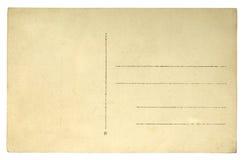 Vecchio fondo di lerciume della cartolina Fotografia Stock