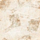 Vecchio fondo di struttura del collage del giornale di lerciume fotografia stock libera da diritti