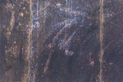 Vecchio fondo di struttura della parete del metallo fotografie stock