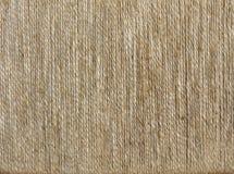 Vecchio fondo di struttura della tela di sacco Fotografie Stock