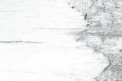 Vecchio fondo grungy di legno bianco Immagini Stock