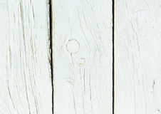 Vecchio fondo misero di bianco di legno naturale Fotografia Stock Libera da Diritti