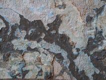 Vecchio fondo nocivo della parete di lerciume Immagine Stock Libera da Diritti
