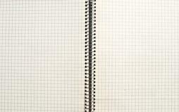 Vecchio fondo o struttura di carta controllato Immagini Stock Libere da Diritti