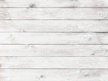 Vecchio fondo o struttura di legno bianco Immagine Stock Libera da Diritti