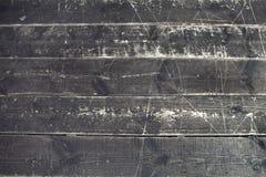 Vecchio fondo o struttura di legno del pavimento della parete della plancia Immagine Stock