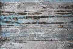 Vecchio fondo orizzontale di legno Grungy Immagini Stock Libere da Diritti
