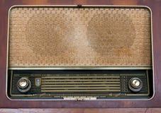 Vecchio fondo radiofonico Fotografia Stock Libera da Diritti