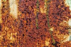 Vecchio fondo rosso astratto arrugginito Fotografie Stock Libere da Diritti