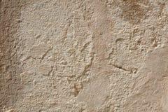 Vecchio fondo scheggiato beige di struttura della parete immagine stock libera da diritti