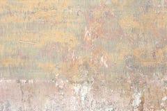 Vecchio fondo scheggiato e graffiato di struttura della parete fotografia stock libera da diritti