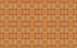 Vecchio fondo senza cuciture di struttura del muro di mattoni di lerciume Fotografia Stock