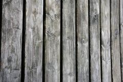 Vecchio fondo stagionato dei bordi di legno Fotografia Stock