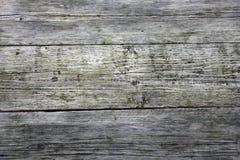Vecchio fondo stagionato dei bordi di legno Immagini Stock