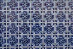 Vecchio fondo tipico delle mattonelle da Portogal Fotografia Stock