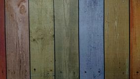 Vecchio fondo variopinto di legno di struttura della plancia royalty illustrazione gratis