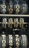 Vecchio fronte della pompa di gas Fotografia Stock