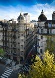 Vecchio fronte di Buenos Aires Fotografie Stock Libere da Diritti