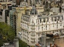 Vecchio fronte di Buenos Aires Fotografia Stock