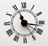 Vecchio fronte di orologio Immagine Stock