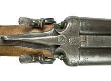 Vecchio fucile da caccia di caccia. Immagine Stock Libera da Diritti